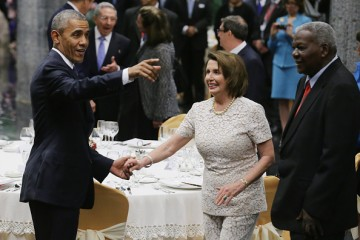 Nancy Pelosi, former House Minority Leader and now Democratic Leader, led the bipartisan delegation to India.