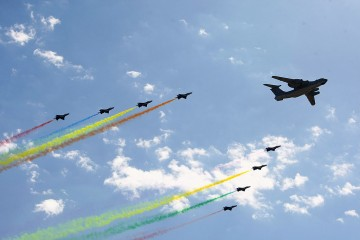 PLA drills result in jet crashes in East China.