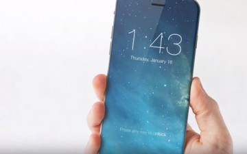 An all-glass and bezel-free render of the iPhone 8 with OLED curved display and wireless charging that Apple is expected to release 2H 2017