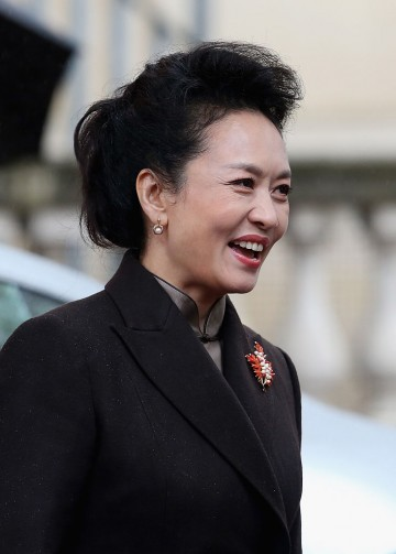 China's First Lady Peng Liyuan is a staunch supporter of the country's anti-AIDS advocacy.