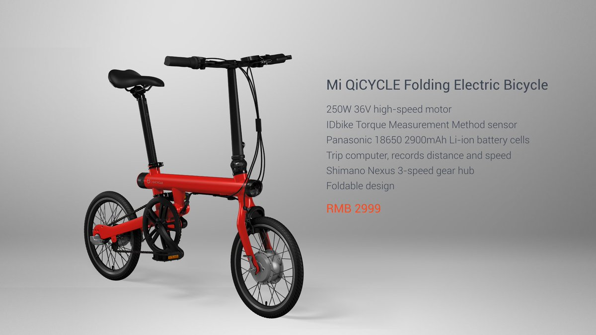 xiaomi s foldable electric bike takes on competition with. Black Bedroom Furniture Sets. Home Design Ideas