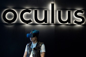 The Oculus Rift is a virtual reality headset developed and manufactured by Oculus VR, a division of Facebook Inc., released on March 28, 2016.