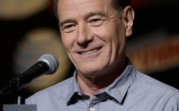 Bryan Cranston from Supermansion speaks at New York Comic-Con 2015 day 4 at the Jacob K. Javits Convention Center on October 11, 2015 in New York City.