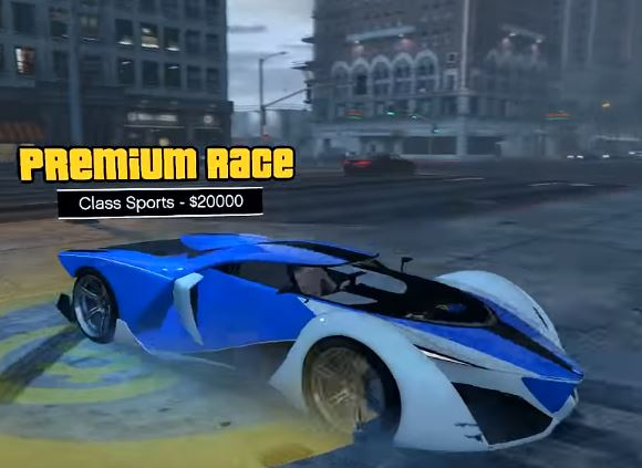 GTA V Online Cunning Stunts DLC includes Premium Races for t