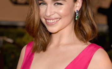 Actress Emilia Clarke attends The 22nd Annual Screen Actors Guild Awards at The Shrine Auditorium on January 30, 2016 in Los Angeles, California.