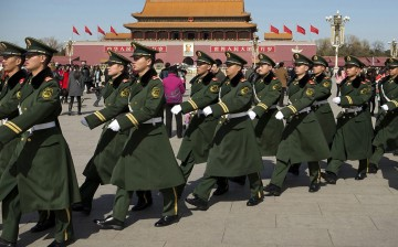 Chinese military authorities have detained a Japanese man for alleged espionage.