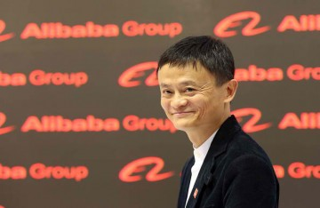 Jack Ma is Alibaba's chief executive.