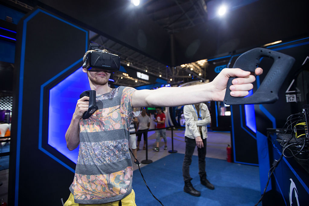 D Virtual Reality Exhibition : Alibaba working on vr mobile pay technology for edge in futu