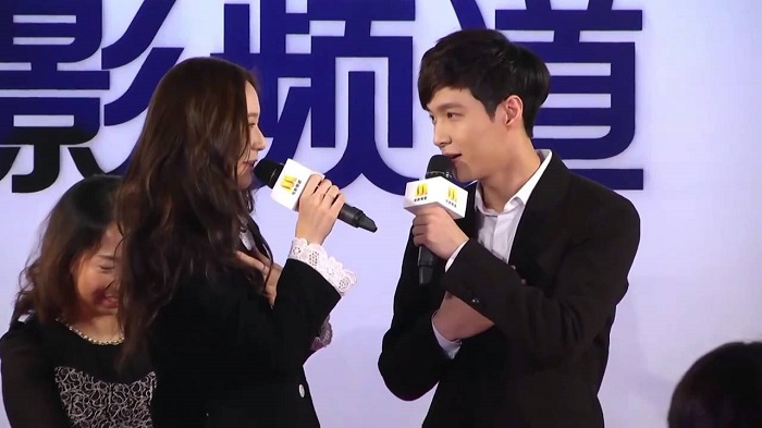 EXO's Lay, f(x)'s Krystal 'Unexpected Love