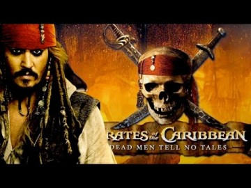 'Pirates of the Caribbean: Dead Men Tell No Tales' poster shows lead actor Johnny Depp.