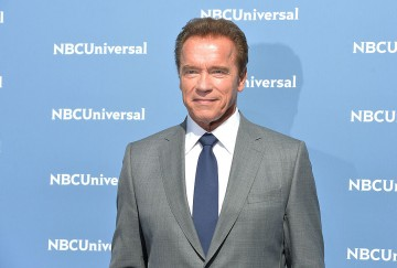 Arnold Schwarzenegger attends the NBCUniversal 2016 Upfront Presentation on May 16, 2016 in New York.