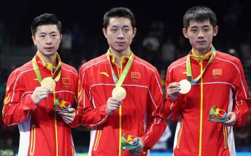 Badminton stars also joined the delegation of Olympians who visited Hong Kong.