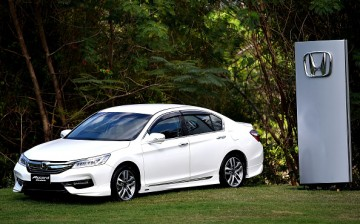 Honda Accord car presents during day two of the 2016 Honda LPGA Thailand at Siam Country Club on February 26, 2016 in Chon Buri, Thailand.
