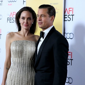 Angelina Jolie and Brad Pitt attend Audi at the opening night gala premiere of 'By the Sea' during AFI FEST 2015 presented by Audi at TCL Chinese 6 Theatres in Hollywood, California