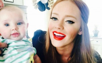 Kathryn Dennis seen with son Saint Julien