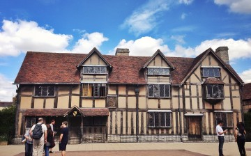 Shakespeare's birthplace at Stratford-upon-Avon is a popular destination for tourists from all over the world.