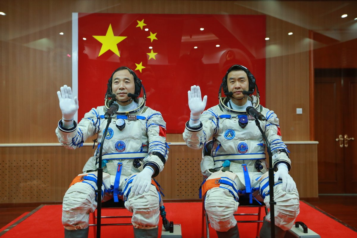 astronauts in space china - photo #40