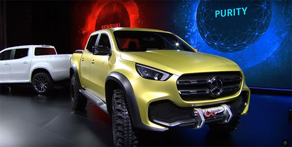 2018 mercedes benz x class pickup truck features and release for 2018 mercedes benz lineup