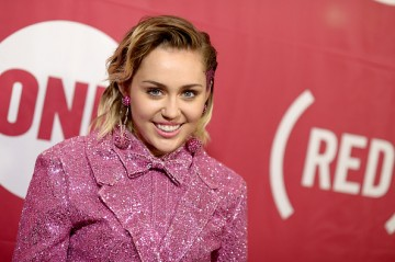 Singer-songwriter Miley Cyrus attends the ONE Campaign and (RED)'s concert at Carnegie Hall on December 1, 2015 in New York City.