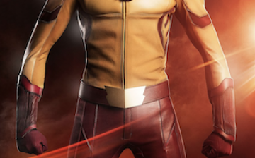 Keiynan Lonsdale as Wally West/Kid Flash on The Flash TV series.