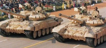 Indian Army T90 MBTs.