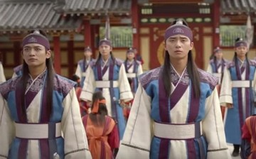 SHINee's Minho and Park Seo-Joon star in the KBS 2TV drama 'Hwarang: The Poet Warrior Youth.'