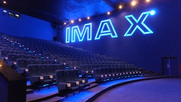IMAX plans to build more theaters in China.