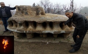 Strange Rock Structure in China
