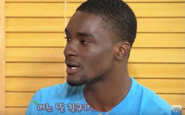 Sam Okyere in an episode of the variety show,