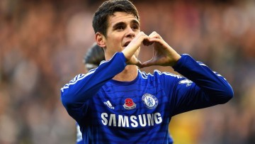 Brazilian football star Oscar