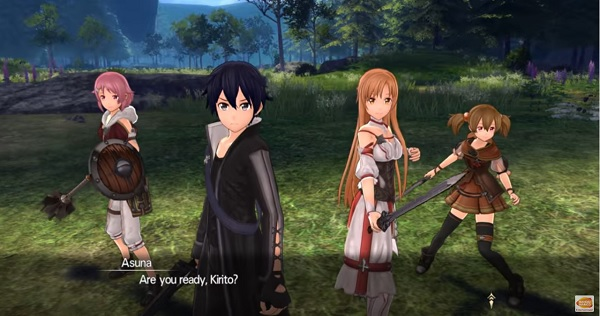 Sword Art Online: Hollow Realization' upcoming DLC Shri