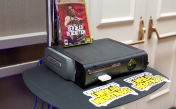 The 'Red Dead Redemption' video game for Microsoft Corp.'s XBOX 360 console sits on display at the BMO Capital Markets Annual Digital Entertainment Conference in New York, U.S., on Thursday, Nov. 11, 2010.
