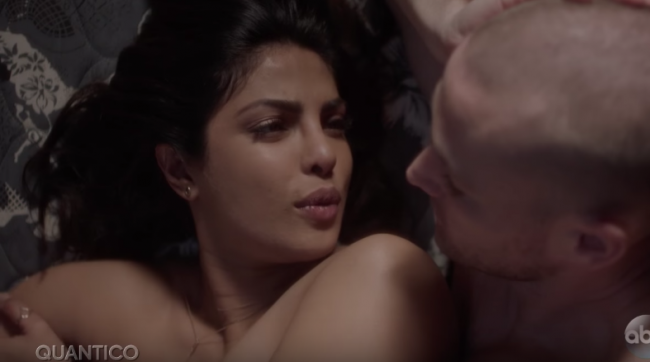 Quantico Season  Priyanka Chopras Hot Sex Scene In New Sneak Peek Video And Slideshow