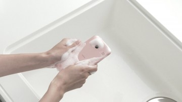 Kyocera's Rafre is a soap foam-resistant and waterproof smartphone with mid-range specs.