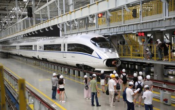 China is now considered as one of the world's leading countries in terms of high-speed rail technology.
