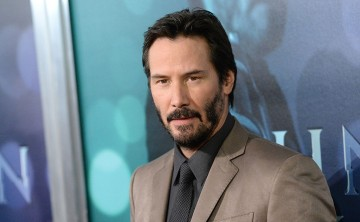 Actor Keanu Reeves attends Summit Entertainment's premiere of 'John Wick' at the ArcLight Hollywood on October 22, 2014 in Hollywood, California.