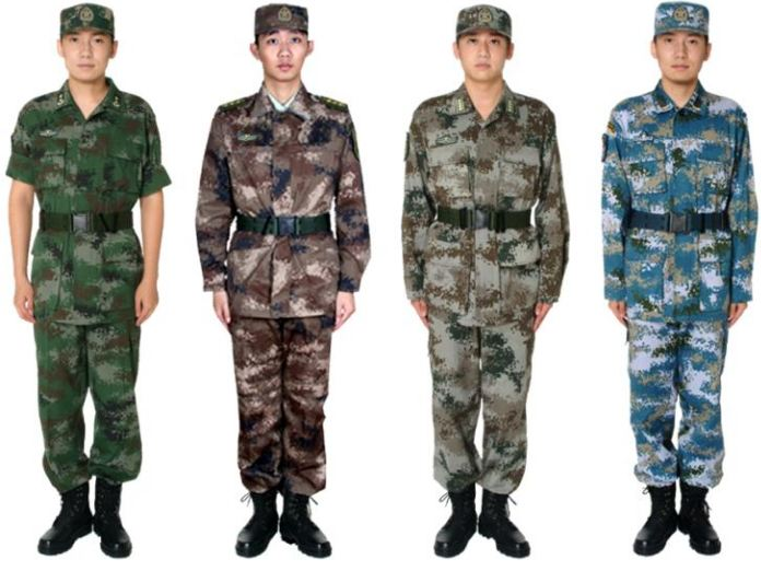 PLA Field Testing New Combat Uniforms with better Camouflage