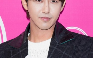 Hwang Kwang-Hee of South Korean boy band ZE:A (Children of Empire) attends during at the 'Kwak Hyun-Joo' show on day five of the Seoul Fashion Week Spring/Summer 2014 at Yeoido Park on October 22, 2013 in Seoul, South Korea