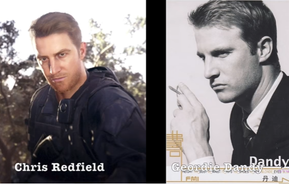 chris redfield resident evil 7 comparison