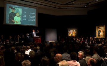 The most expensive art pieces in the world are auctioned at Christie's.