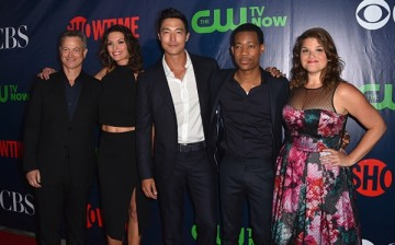 Gary Sinise, Alana De La Garza, Daniel Henney, Tyler James Williams and Annie Funke attend CBS' 2015 Summer TCA party at the Pacific Design Center on August 10, 2015 in West Hollywood, California.