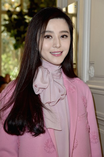 Fan Bingbing attends the Valentino show as part of the Paris Fashion Week Womenswear Spring/Summer 2017 on October 2, 2016 in Paris, France.