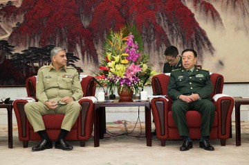 General Bajwa arrived in China to discuss security measures conducted for implementation of CPEC projects.