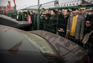 Anti-Corruption Crackdown As China's Public Official's Vehicles Are Auctioned Off