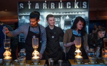 Starbucks is one of the U.S. companies benefiting from China's new economy, with sales in the country reaching 6 percent last year.