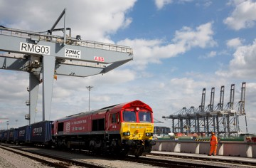 Silk Road Freight Train from Britain