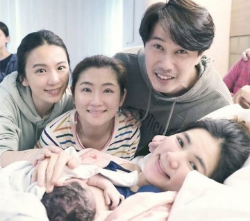 Ella Chen with Strong Baby