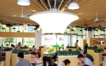 Many Chinese are staying away from fast food and exploring global cuisine instead.