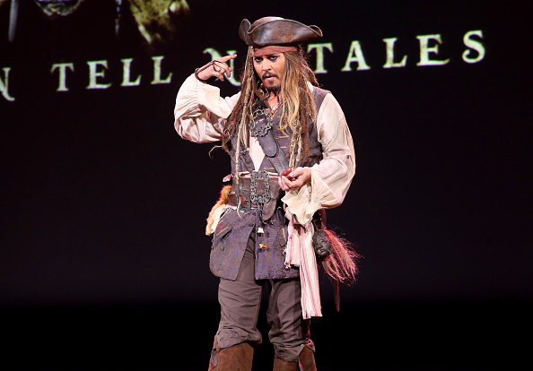 Shanghai Rolls out Red Carpet for 'Pirates of the Caribbean: Dead Men Tell No Tales' Disneyland Premiere