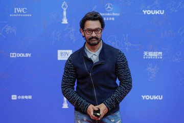 For the Chinese, veteran actor Aamir Khan,